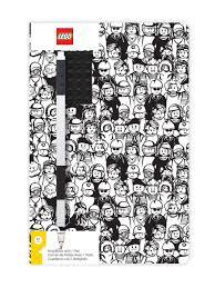 <b>Книга</b> для записей <b>LEGO Classic</b> - Minifigure. Lego. 10164116 в ...