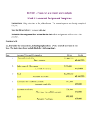 financial accounting assignment studypool