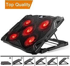 Amazon.com: Pccooler <b>Laptop Cooling Pad</b>, <b>Laptop</b> Cooler with 5 ...