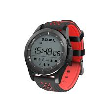 <b>Умные часы NO.1 F3</b> черно-красные купить в интернет-магазине ...