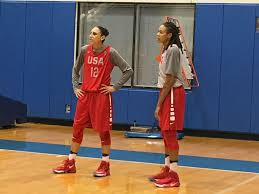 olympics photo essay from usa basketball practice diana taurasi and seimone us matchup on some red team vs white team offensive sets taurasi and us have been competing against each other since