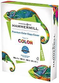 Hammermill Printer Paper, <b>Color Copy</b> Digital Cover, <b>100lb</b>, 8.5 X 11 ...