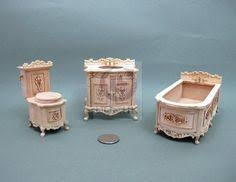 miniature 112 scale bath room for doll houseunfinished affordable dollhouse furniture