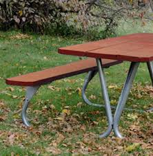 patio table concrete top stm rectangular park ranger rectangular picnic table with redwood stained southern yel