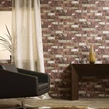 brown living room wallpaper