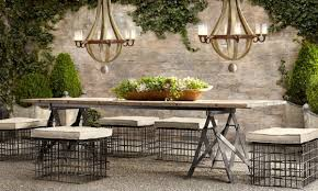 outdoor furniture restoration hardware. enchanting restoration hardware outdoor dining table patio furniture home w