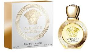 <b>Versace Eros Pour Femme</b> EdT 50ml in duty-free at airport Koltsovo