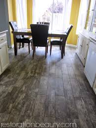 Hardwood Or Tile In Kitchen Faux Wood Tile Floors Flooring Pinterest Patterns Faux Wood