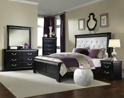 piece bedroom suite img queen bed with footboard and upholstered leatherette headboard by ston