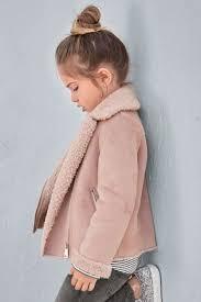 Купить Розовая <b>байкерская куртка</b> (3-16 лет) на сайте Next: Россия