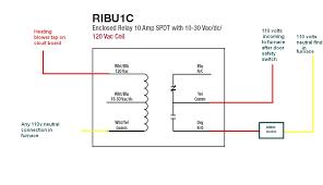 ribu1c relay wiring diagram ribu1c wiring diagrams online ribu c relay wiring diagram how to wire an inline duct fan to main furnace blower