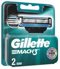 Купить Сменные <b>кассеты Gillette Mach3</b>, 2 шт. по низкой цене с ...