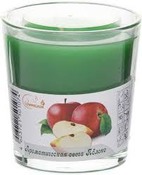"<b>Свеча</b> ароматизированная <b>Chameleon</b> ""Яблоко"", в стакане, цвет ..."
