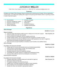 resume sample of office manager resume builder resume sample of office manager sample resume office manager resume it training and office manager resume