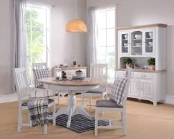 Light Oak Dining Room Furniture Dining Creative Dining Room With Trestle Table And Parson Chairs