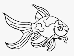 goldfish template clipart best galleries related goldfish outline clipart goldfish template