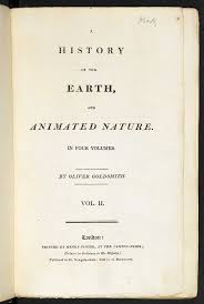 A <b>History</b> of the Earth, and Animated Nature - The British Library