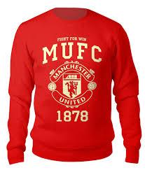 Свитшот унисекс хлопковый <b>Манчестер Юнайтед</b> #2565592 от ...