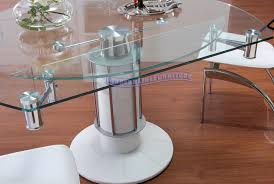 extendable dining table set: extendable glass dining table all old homes