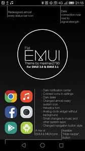 [Theme EMUI 3.0, 3.1, 4.0 & 4.1] Flat E… | Huawei Ascend P7