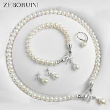 <b>ZHBORUINI New Natural</b> Freshwater Pearl Hair Clip for Woman and ...