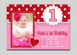 st birthday invitations girl template st birthday valentines birthday invitation 1st birthday