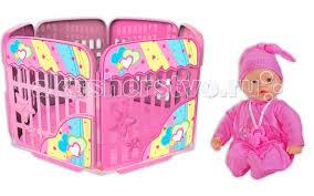 <b>Loko Toys</b> My Dolly Sucette Набор 37 см с игровой площадкой ...