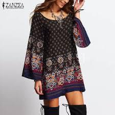 Выгодная цена на <b>zanzea</b> dresses <b>autumn women</b> sexy ...