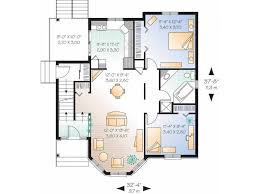 Eplans Victorian House Plan   Two Story Victorian Duplex      Level