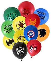 MC TTL <b>24pcs</b> Superhero Balloons 12 different patterns Captain ...