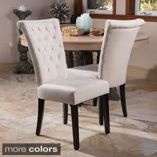 transitional dining chair sch: venetian dining chair set of  by christopher knight home