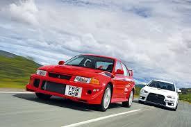 Signing off in style: <b>Mitsubishi Lancer</b> Evolution VI vs <b>Evolution X</b> ...