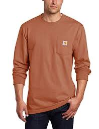 Carhartt Men's Workwear Jersey Pocket Long-Sleeve ... - Amazon.com