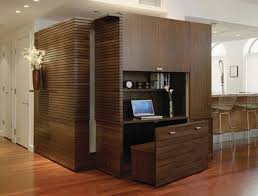 beautiful dark brown wood modern rustic design small spaces home office wall base cabinet floor laptop awesome custom reclaimed wood office desk