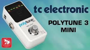 <b>Гитарный</b> полифонический <b>тюнер TC ELECTRONIC</b> POLYTUNE ...