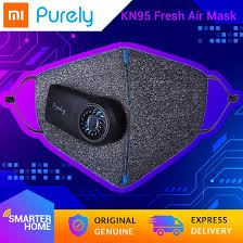 Xiaomi <b>Purely</b> Electric Fresh <b>Air</b> Mask, Genuine KN95 <b>Anti</b>-<b>haze</b> ...