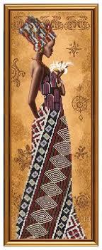 <b>Набор для вышивания NOVA</b> SLOBODA НД 2077 Африканка с ...