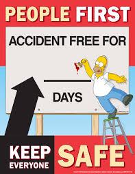 accident reporting safety posters simpsons people first accident we have the best selection of safety posters to keep your employee s safety first and your workplace