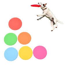 <b>Soft Silicone Flying</b> Discs Toy for <b>Dog</b> Cat <b>Pet</b> Interactive Chew ...