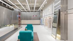 <b>Stainless steel</b> partition frames <b>fashion</b> boutique by Xian Xiang Design