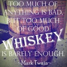 Mark Twain on Good Whiskey - The Whiskey Jug via Relatably.com