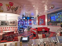 themed family rooms interior home theater: lonely space becomes popular themed home theaters   diner home theaterjpgrendhgtvcom