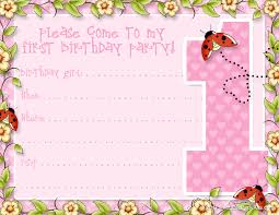 printable girls 1st birthday invitation templates google printable girls 1st birthday invitation templates google search