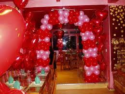 Entrance Decoration ideas for Valentine Theme party