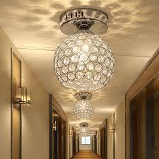 k9 crystal ceiling lights aisle lamp corridor entrance light hallway balcony lighting stair lamp base led balcony lighting