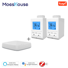 <b>Zigbee Smart</b> TRV Thermostatic Radiator Valve Controller ...