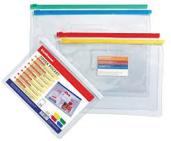"<b>ZIP</b>-<b>пакет</b> пластиковый <b>ErichKrause</b> ""<b>PVC</b> Zip Pocket"", A5 ..."