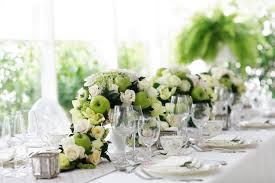 flower arrangements dining room table: dining room weddings centerpiece ideas with jasmine flower arrangements for table and wedding reception white