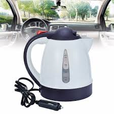 <b>Mayitr 1pc</b> 1000ml 12V Car Kettle Portable <b>Auto</b> Tea Coffee Water ...