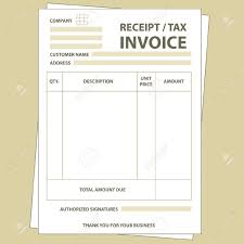 invoice and receipt template sanusmentis tax invoice receipt template ideas payment illustration of unfill paper form royalty invoice and receipt template